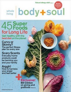 Body soul mag cover