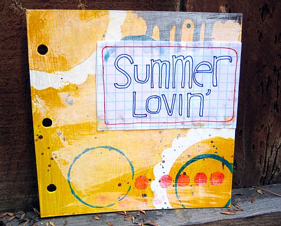 Summer journal cover
